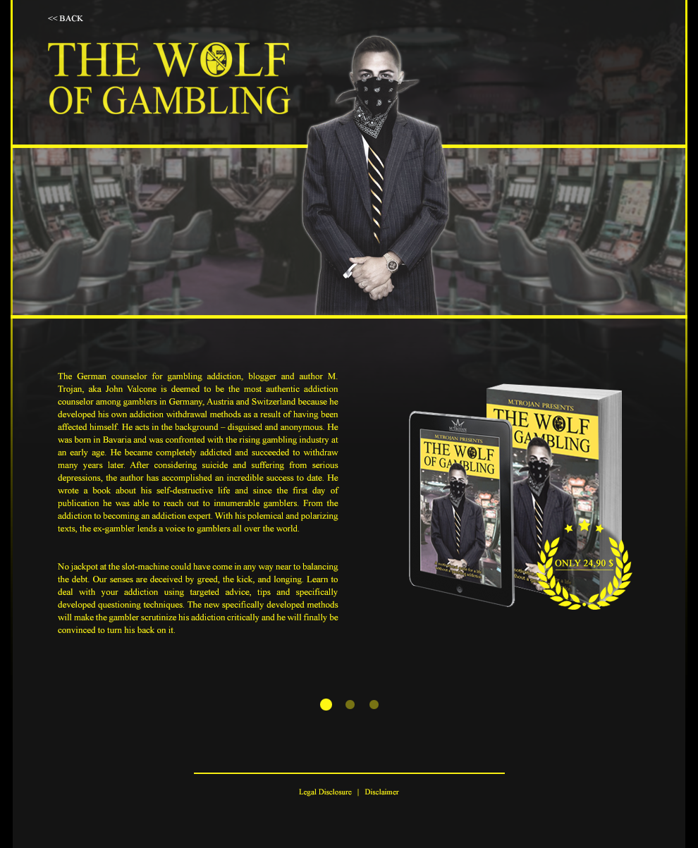 The Wolf of Gambling - Side 1