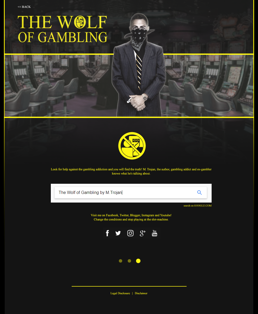 The Wolf of Gambling - Side 3